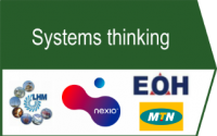 Our systems thinking approach enables holistic organisational transformation. Engagement of the people dimension occurs early on in the analysis. We make use of soft systems methodology to enable a holistic approach to system wide organisational transformation.